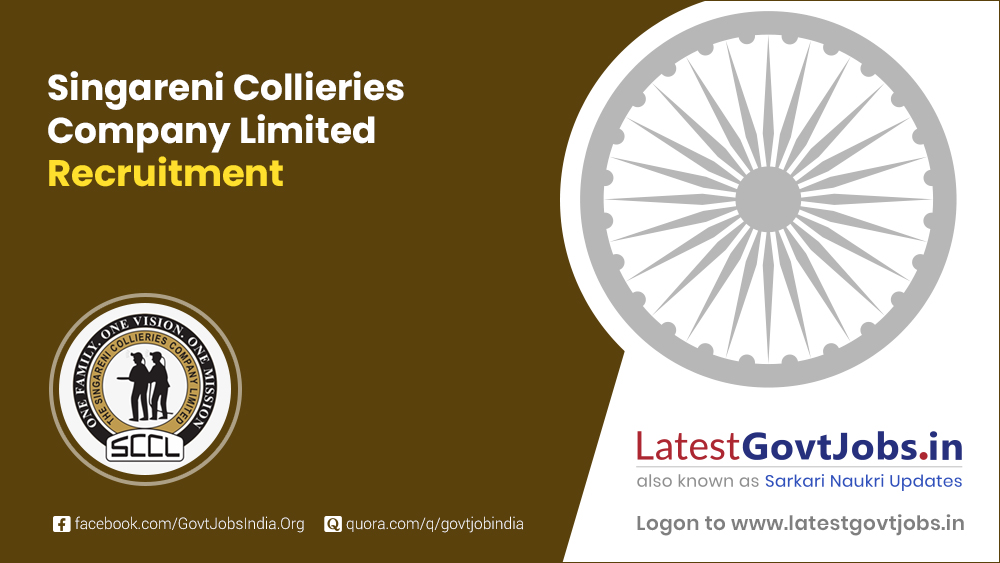Singareni Collieries Company Limited Recruitment