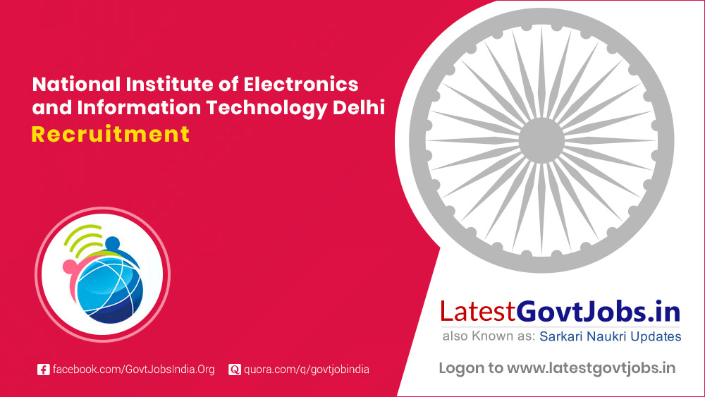 National Institute of Electronics and Information Technology Delhi