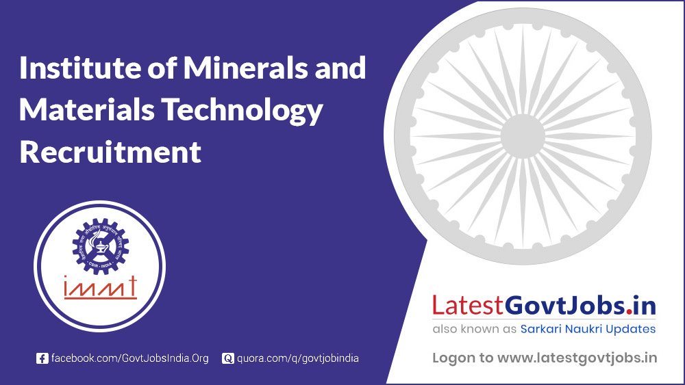 Institute of Minerals and Materials Technology