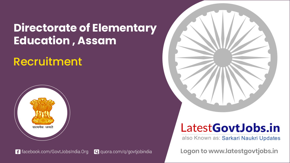 Directorate of Elementary Education Assam
