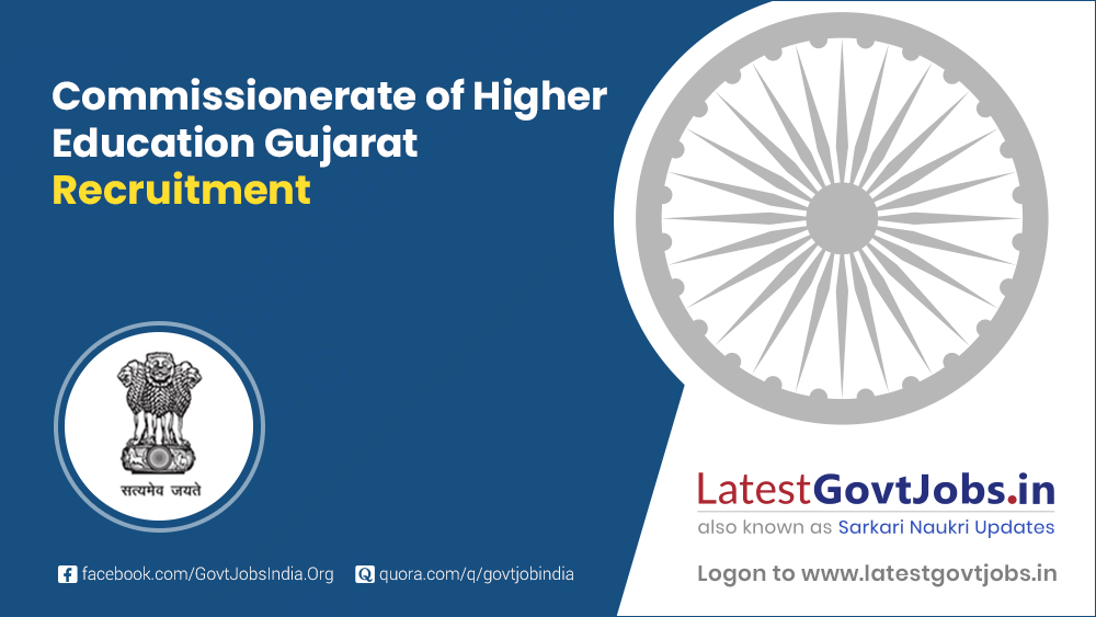 Commissionerate of Higher Education Gujarat