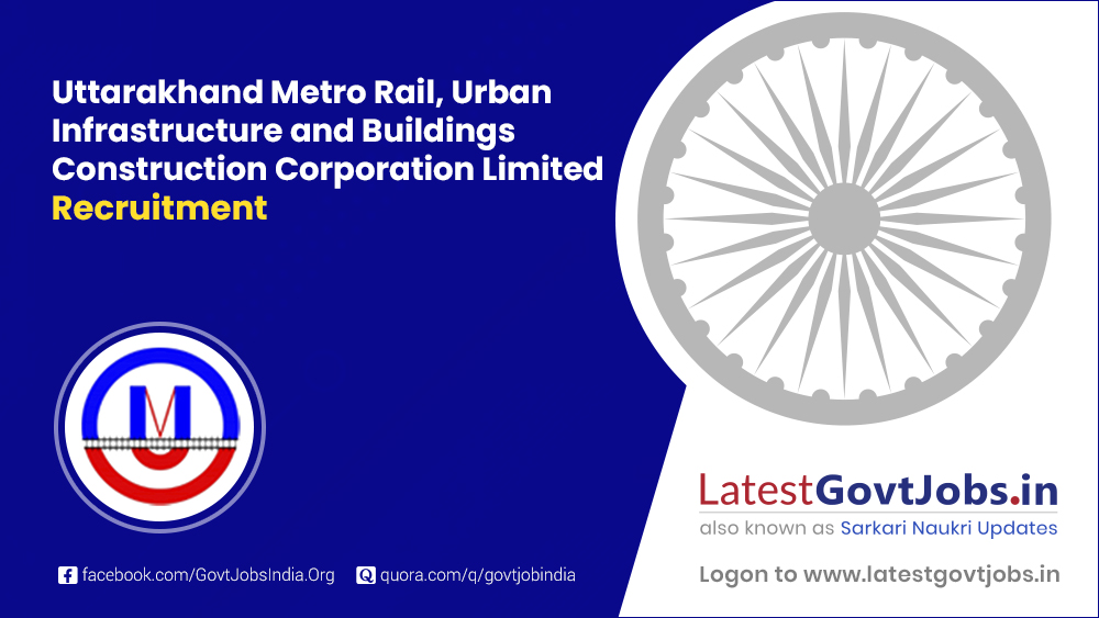 Uttarakhand Metro Rail, Urban Infrastructure and Buildings Construction Corporation Limited