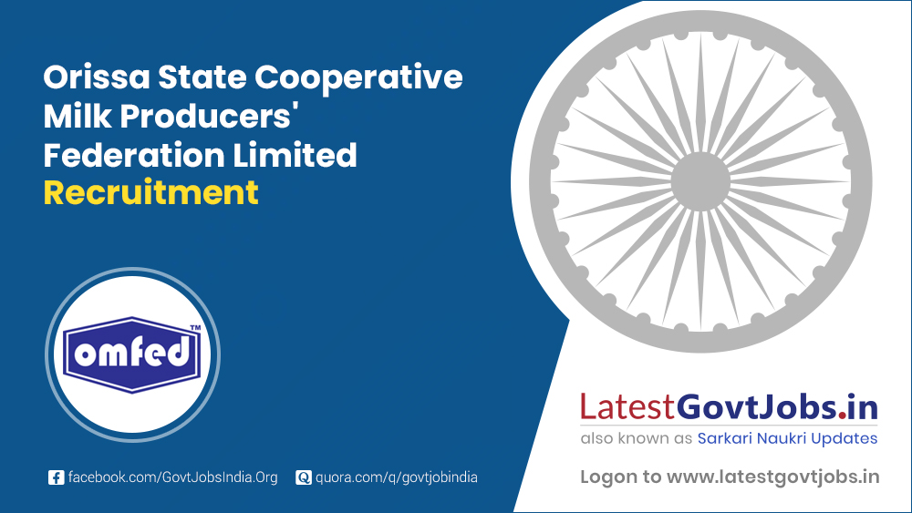 Orissa State Cooperative Milk Producers' Federation Limited