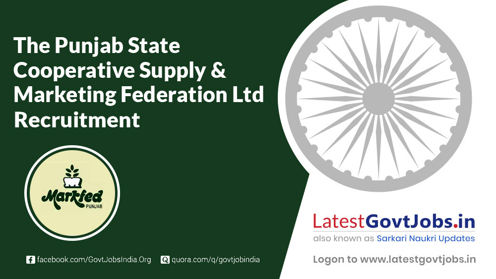The Punjab State Cooperative Supply & Marketing Federation Limited